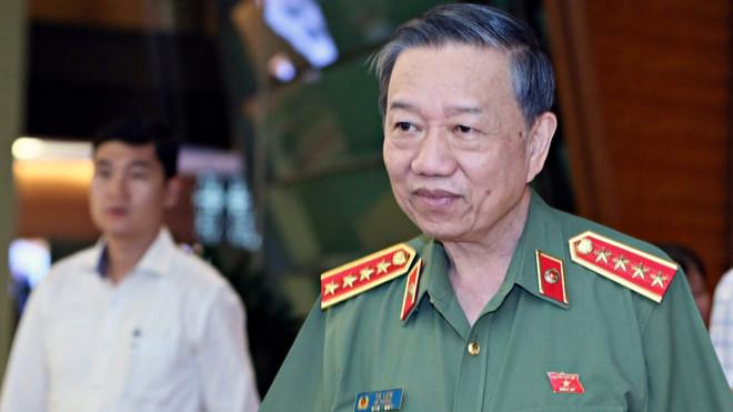 Bộ trưởng Tô Lâm lên tiếng vụ Thượng uý công an tát nhân viên quầy thu ngân tại trạm dừng nghỉ Hải Đăng. (Ảnh qua vtc)