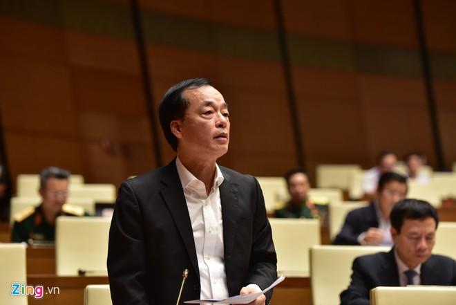 Bộ trưởng Xây dựng Phạm Hồng Hà.