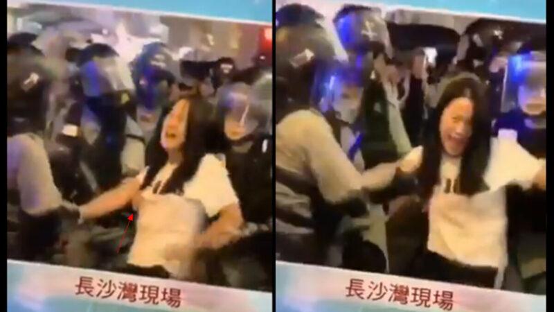 Hành vi xâm hại tình dục của cảnh sát Hồng Kông khiến người dân phẫn nộ (ảnh 1)