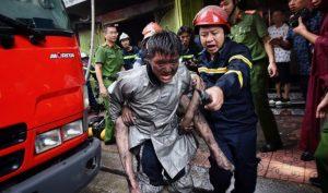 Bộ trưởng Tô Lâm xúc động trước kiến nghị dựng tượng cảnh sát PCCC của cử tri