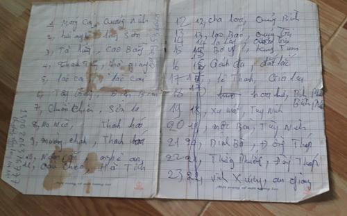 Người cha đi khắp 20 tỉnh thành tìm con trai 7 tuổi mất tích