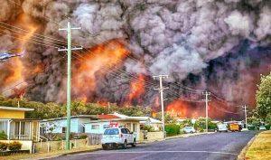 Australia: Cháy rừng lớn kỷ lục, khói bay sang tận New Zealand