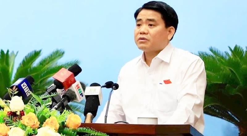 """Chủ tịch UBND TP.Hà Nội """"xin rút kinh nghiệm sâu sắc"""" và thừa nhận trong sự cố nước sạch sông Đà có trách nhiệm của thành phố."""