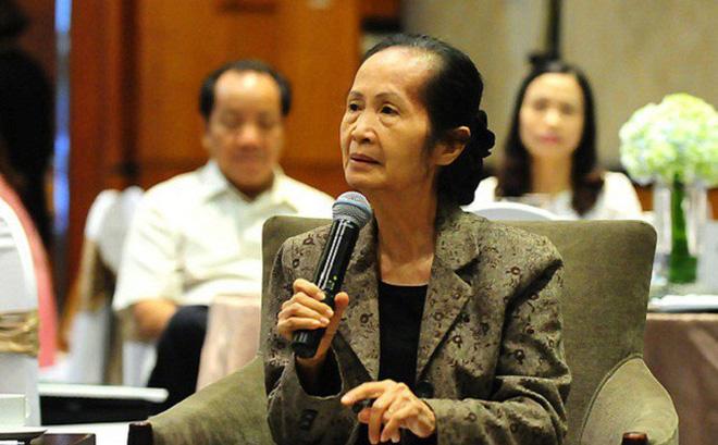 chuyên gia kinh tế Phạm Chi Lan, nguyên thành viên Ban nghiên cứu của Thủ tướng Chính phủ.