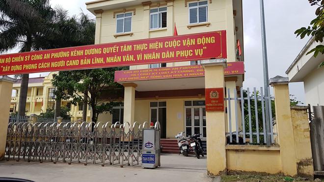 Trụ sở Công an phường Kênh Dương, quận Lê Chân, thành phố Hải Phòng. (Ảnh qua thanhnien)