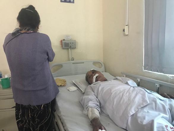 Ông Lâm đang được điều trị tại bệnh viện.