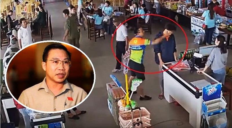 Đại biểu Lưu Bình Nhưỡng nhấn mạnh phải xử lý nghiêm vị thượng úy công an ném xúc xích và tát nhân viên bán hàng, tránh để xử lý nội bộ.
