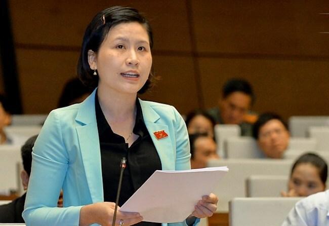 Đại biểu Mai Thị Kim Nhung.