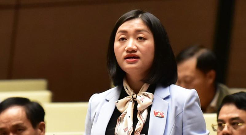 Đại biểu Triệu Thanh Dung đề nghị Quốc hội nâng độ tuổi tối đa của thanh niên lên 35 tuổi thay vì 30 tuổi.
