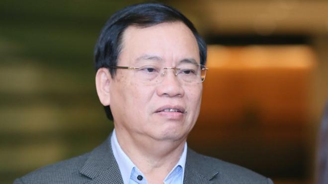 Đại biểu Vũ Trọng Kim.
