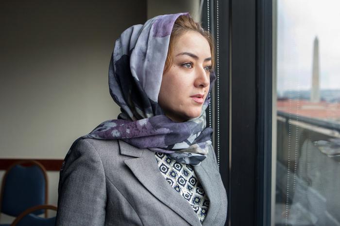 Mihrigul Tursun, một phụ nữ Duy Ngô Nhĩ 3 lần bị bắt giam và chứng kiến cái chết của con trai.