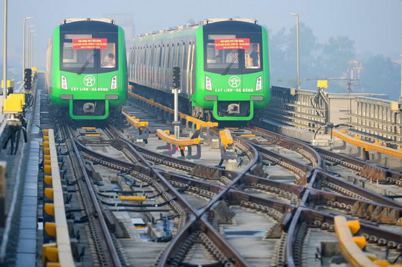 Tuyến đường sắt đô thị Cát Linh – Hà Đông chi sai 3000 tỷ, chậm tiến độ hơn 10 năm. (Ảnh qua vtcnews)