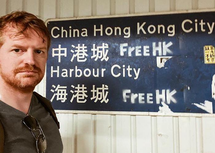 """Hồng Kông có rất nhiều người đã """"cám ơn"""" anh, điều này khiến anh ấy cảm thấy có chút khó tin."""