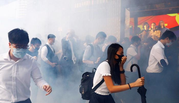 Cảnh sát Hồng Kông ngày càng gia tăng trấn áp đối với người biểu tình phản đối dự luật dẫn độ.