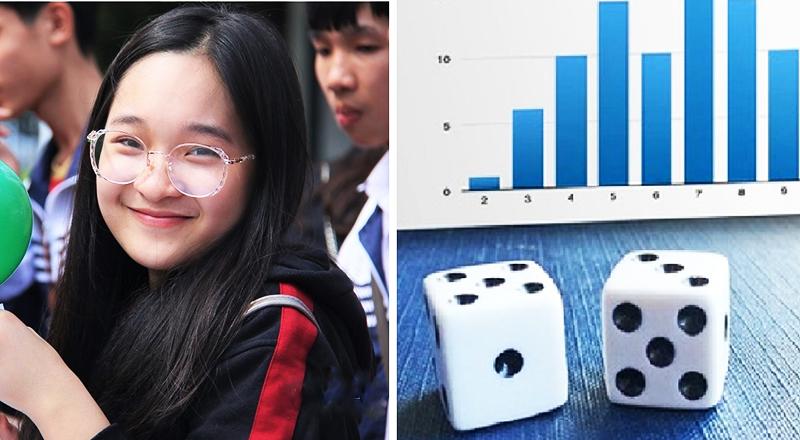 Trong chương trình phổ thông mới, học sinh sẽ được học xác suất và thống kê ngay từ lớp 2.