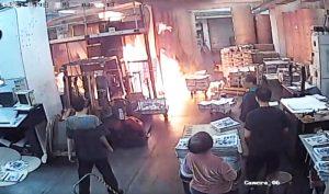 Nghị sĩ Mỹ lên án vụ côn đồ phóng hỏa nhà in báo Epoch Times Hồng Kông