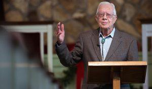 Cựu Tổng thống Mỹ Jimmy Carter nhờ đức tin mà trở nên vĩ đại