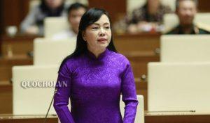 Bà Kim Tiến sẽ được Quốc hội bỏ phiếu miễn nhiệm chức Bộ trưởng Y tế trong ngày 22/11
