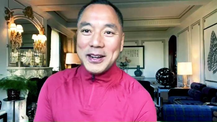 Quách Văn Quý tiết lộ tin tức cho rằng, tình hình của Trung Quốc hiện nay giống như lúc đại Thanh diệt vong.