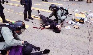 Quốc tế lên án cảnh sát Hồng Kông nổ súng bừa bãi vào người biểu tình