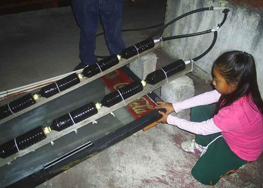 Mexico: Cô bé 8 tuổi phát minh ra máy nước nóng bằng năng lượng mặt trời