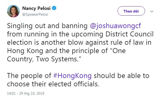 Sự kiện Hoàng Chi Phong khiến Quốc hội Mỹ phẫn nộ (Ảnh 2)