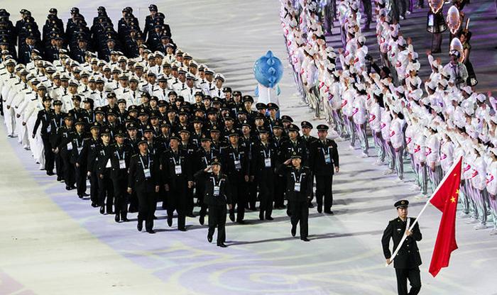tại Đại hội thể thao quân sự thế giới lần này, đội quân sự đại diện cho Trung Quốc đã bị bắt vì gian lận tập thể trong hạng mục định hướng thực địa được tổ chức vào ngày 20/10.