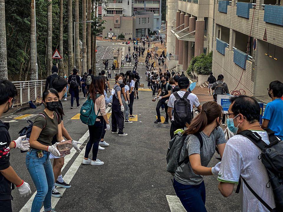 Người biểu tình Hồng Kông chiến đấu vì chính lương tâm của mình (ảnh 2)