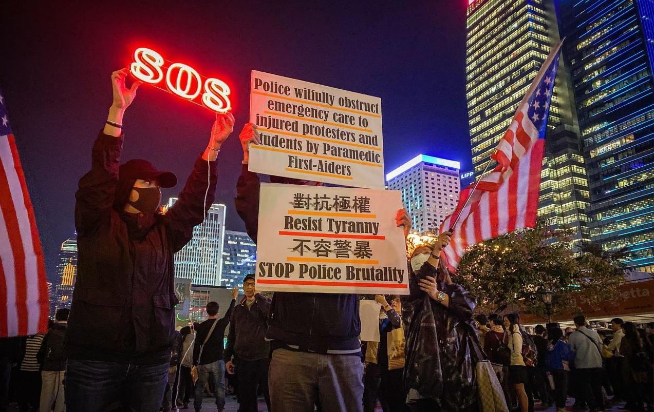 Người biểu tình Hồng Kông: Cuộc chiến chỉ vừa mới bắt đầu, ĐCSTQ nhất định phải sụp đổ (ảnh 1)
