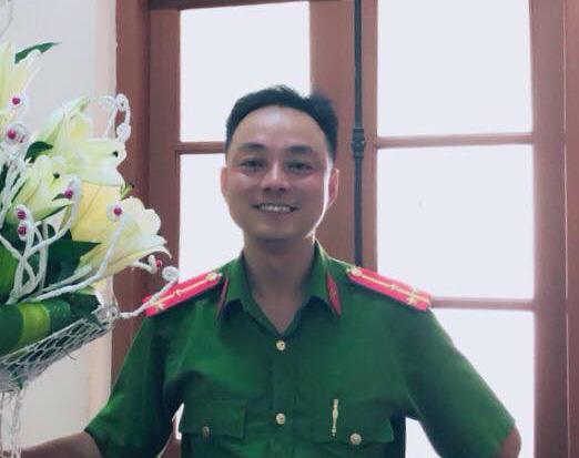 Nhiều nguồn tin cho rằng, người đàn ông trên là thượng úy Công an TP. Thái Nguyên. (Ảnh qua news)