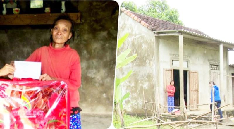 Người phụ nữ tàn tật xin ra khỏi hộ nghèo để nhường người khó khăn hơn. (Ảnh qua ĐKN)