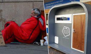 Tổ chức từ thiện cung cấp 'buồng ngủ' miễn phí cho người vô gia cư