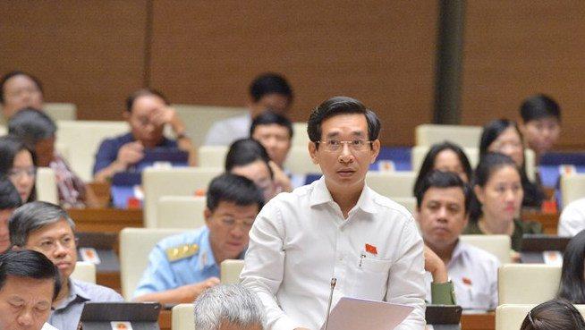 Phiên thảo luận về tình hình kinh tế xã hội năm 2019 và kế hoạch năm 2020 của Quốc hội hôm 31/10. (Ảnh qua baogiaothong)