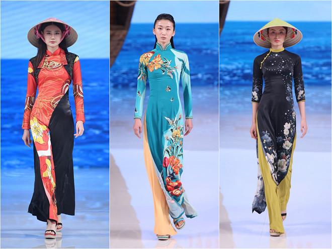Loạt trang phục giống hệt áo dài, nón lá của nhà mốt Trung Quốc khiến nhiều người Việt phẫn nộ.
