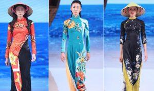 Nhà thiết kế TQ sử dụng áo dài, nón lá của VN và gọi đó là 'phong cách Trung Quốc'