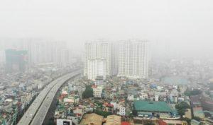 Ô nhiễm không khí tại Hà Nội lên mức 'nguy hại' vào sáng 12/11