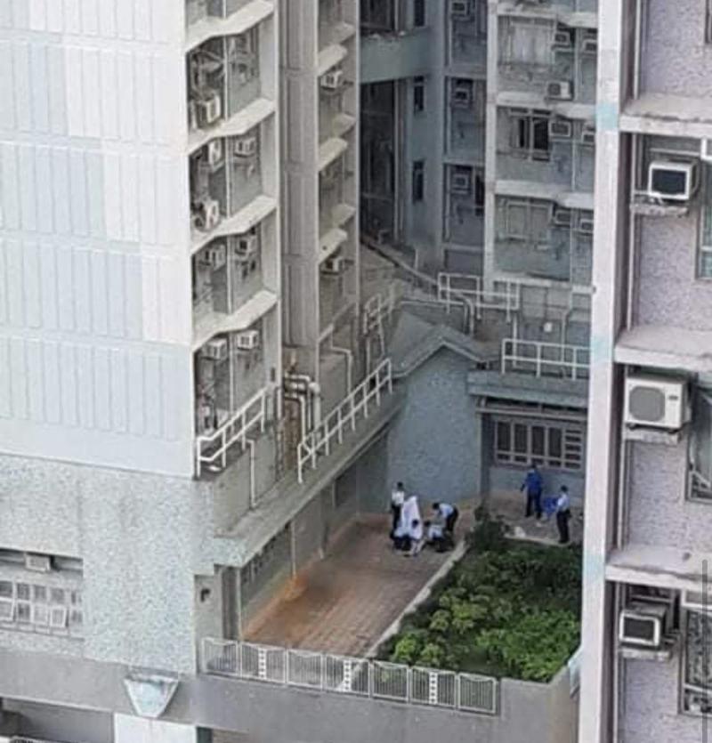 Hiện trường phát hiện cô gái 17 tuổi chết tại khu Tseung Kwan O, Hồng Kông.