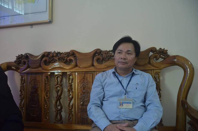 Ông Phạm Văn Luyến, chủ tịch xã Hậu Thành.