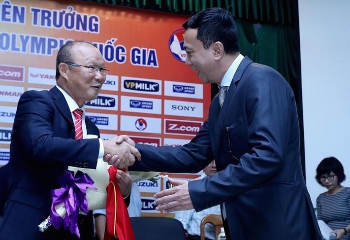 Huấn luyện viên Park Hang-seo sẽ tiếp tục gắn bó với bóng đá Việt Nam.