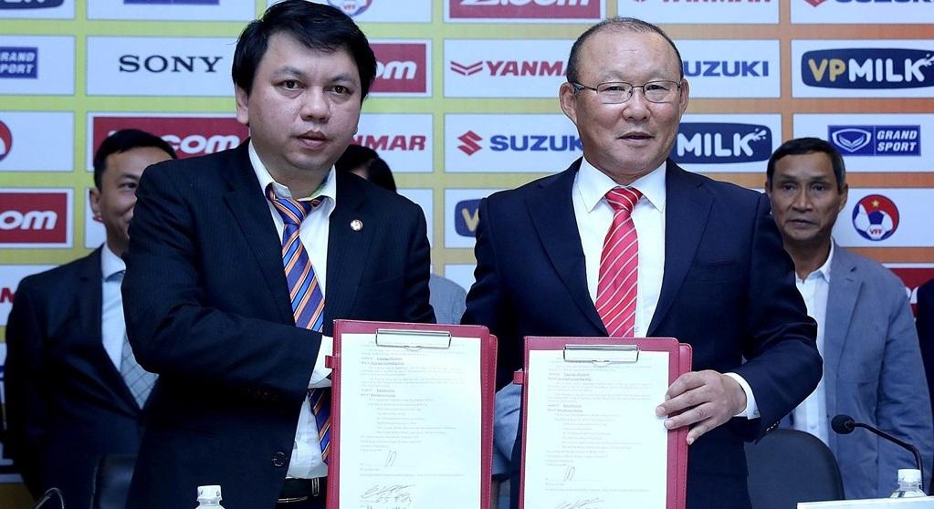 Lễ công bố gia hạn hợp đồng giữa VFF và huấn luyện viên Park Hang-seo sẽ được tổ chức vào ngày 7.11 tại Hà Nội.