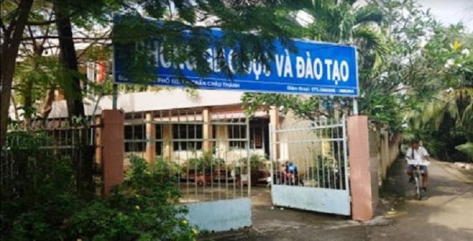 Phòng GD&ĐT huyện Châu Thành (Bến Tre).