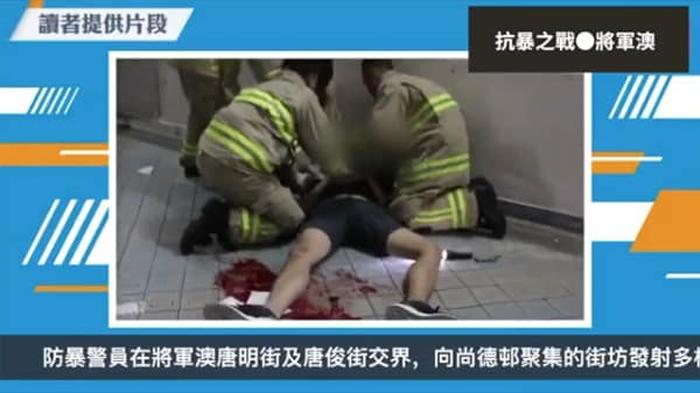 Sinh viên 22 tuổi của Đại học Khoa học Công nghệ Hồng Kông Châu Tử Lạc bị ngã tử.
