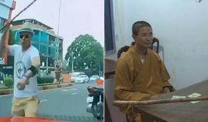 Đắk Lắk: 'Thầy tu' bị khởi tố vì dùng gậy đập vỡ kính xe ô tô của người đi đường