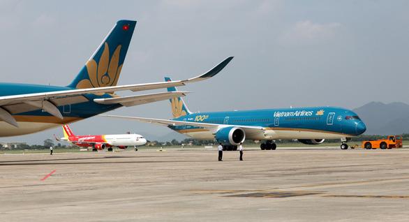 Các hãng hàng không Việt Nam sẽ tăng điểm được lấy khách tại các nước ASEAN và Trung Quốc để đi nước thứ 3. (Ảnh qua tuoitre)