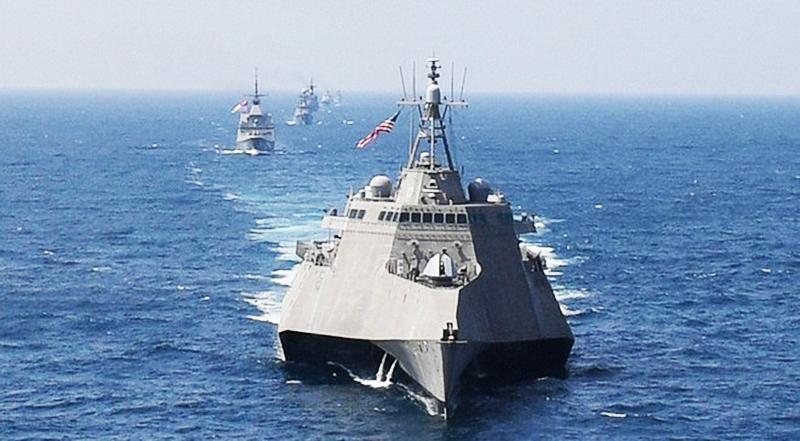 USS Montgomery gần đây đã tham gia một nhiệm vụ chung ở Biển Đông.