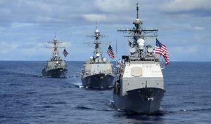Trung Quốc hối thúc Mỹ ngừng 'thị uy' ở Biển Đông