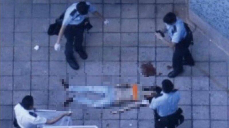 Đoạn phim ngắn tiết lộ cảnh sát Hồng Kông ném nữ sinh trên đường ray (ảnh 3)