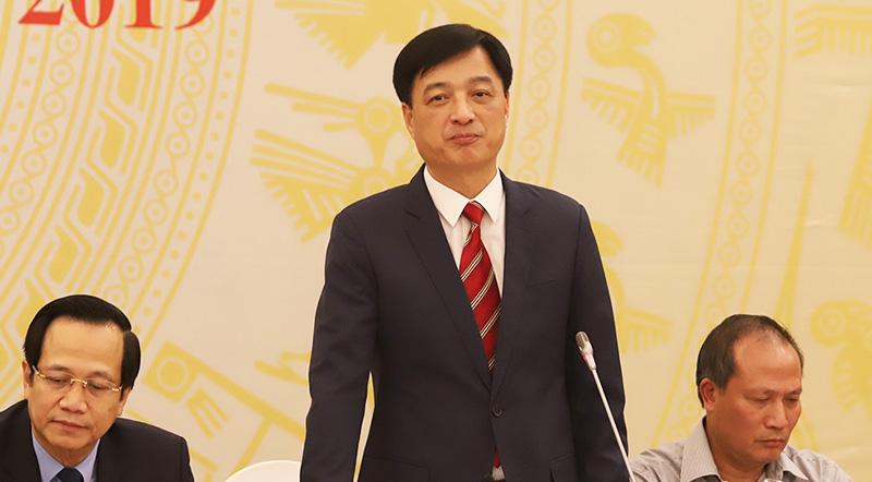 Thứ trưởng Bộ Công an Nguyễn Duy Ngọc: Cơ quan công an đang phối hợp với các cơ quan của Hàn Quốc xác định 6 đối tượng còn lại. (Ảnh qua Vietnamnet)