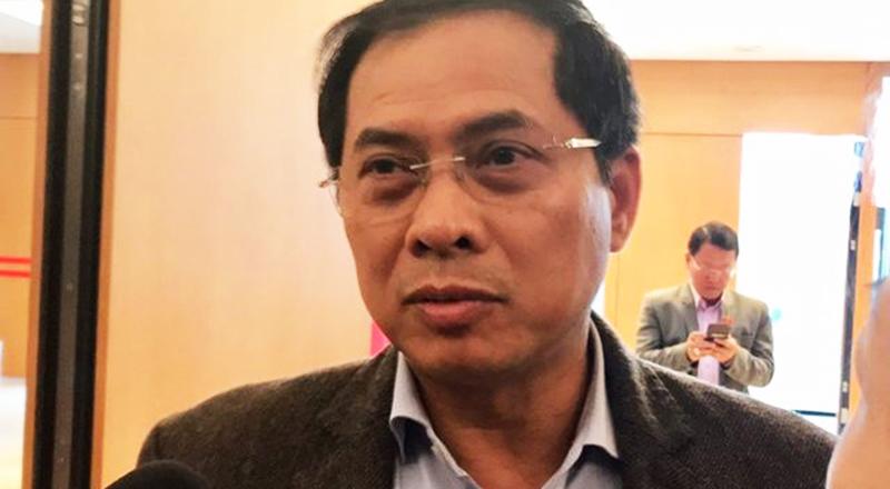 Thứ trưởng Bộ Ngoại giao Bùi Thanh Sơn. (Ảnh qua dantri)