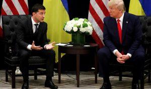 Nhà Trắng công bố cuộc gọi đầu tiên giữa ông Trump và Tổng thống Ukraine